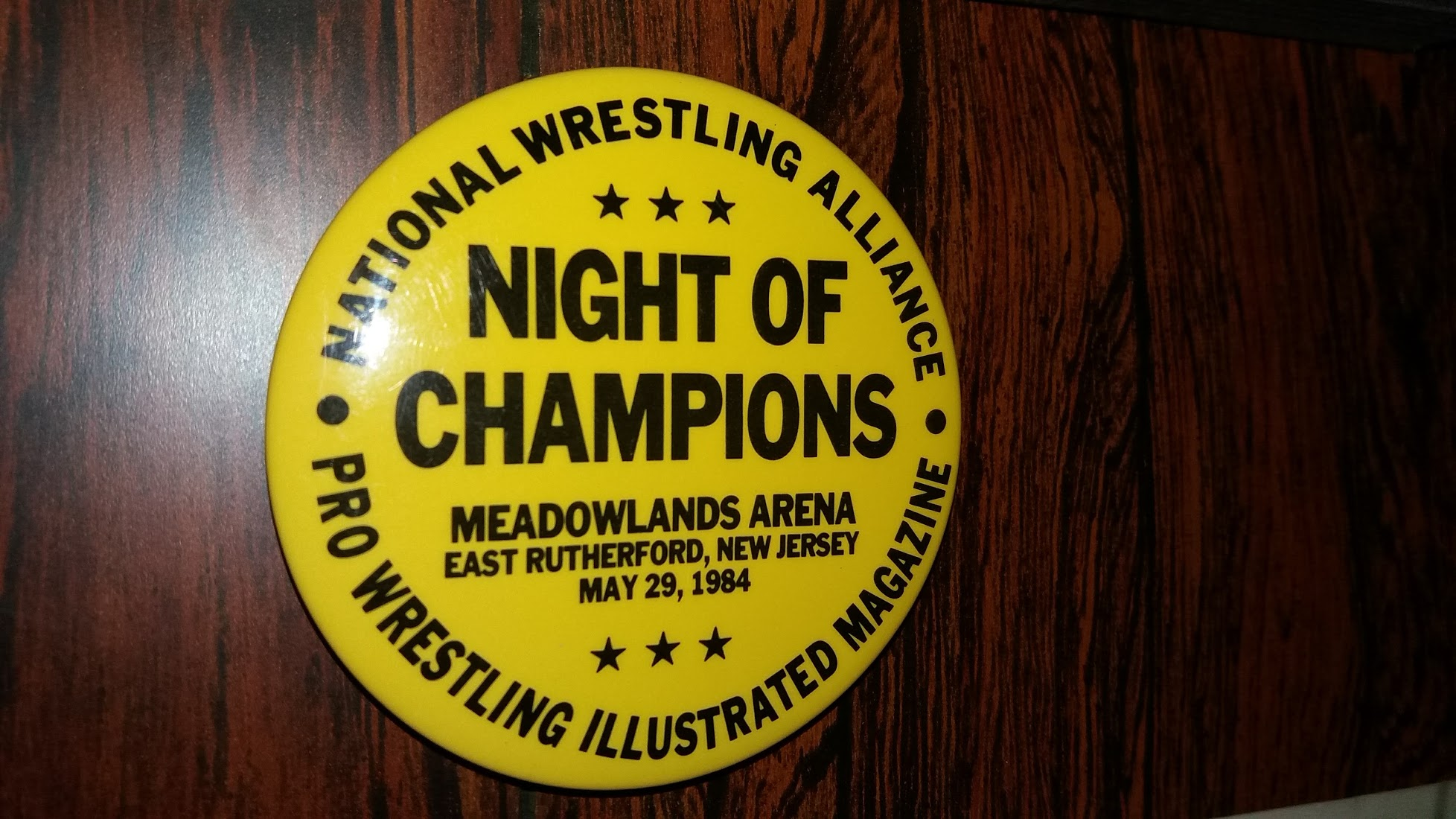 Night Of Champions Event Pin