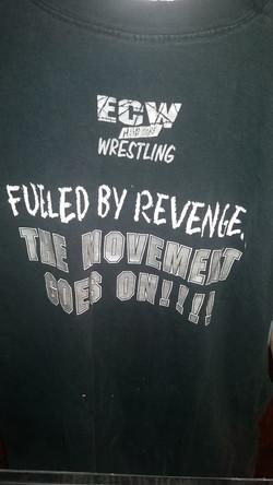 Back of ECW 1997 shirt