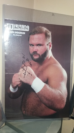 Arn Anderson PWI Poster May 1991