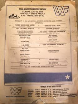 WWF July 10, 1988