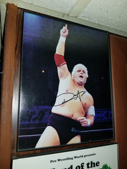Dusty Rhodes signed photo