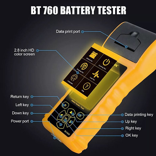 AUTOOL BT760 Automotive Battery Tester
