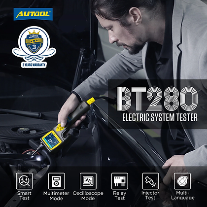 AUTOOL BT280 Electric System Tester Analyzer