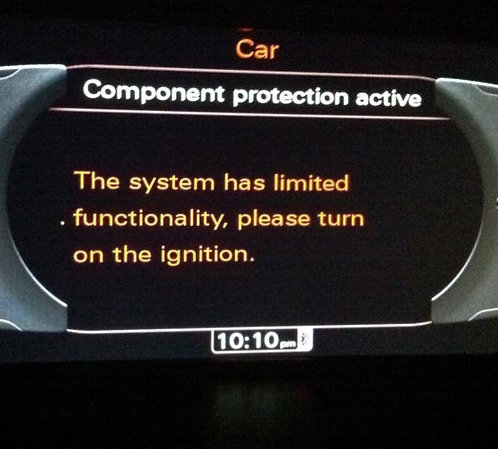 Audi Component Protection Adaption