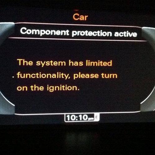 Audi Component Protection Adaption