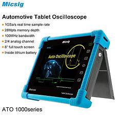 MicSig ATO1104 Tablet 4-CH 100MHz Oscilloscope