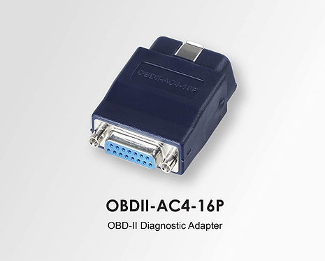 Autoland Scanner OBD2 OBDII 16 Pin Diagnostic Adapter Connector