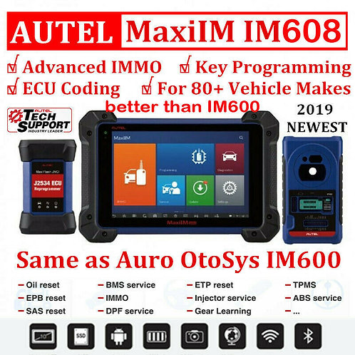 Autel MaxiIM IM608 PRO Diagnostic Key Programming and ECU Coding