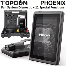 TOPDON Phoenix (Complete with OBD1 Adat.)Diagnostic Tool
