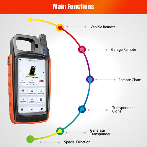 Xhorse VVDI Key Tool Max Support Generate Transponder and Remote tester