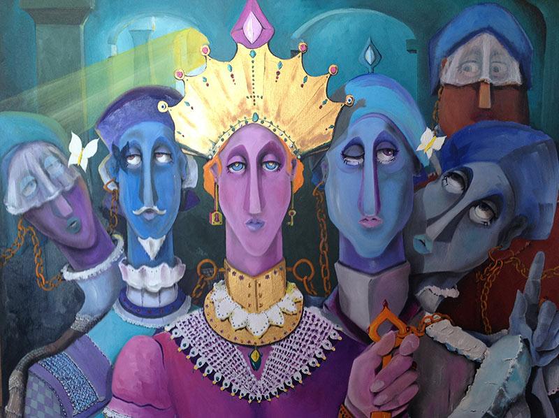 Kraliçenin Tutsakları