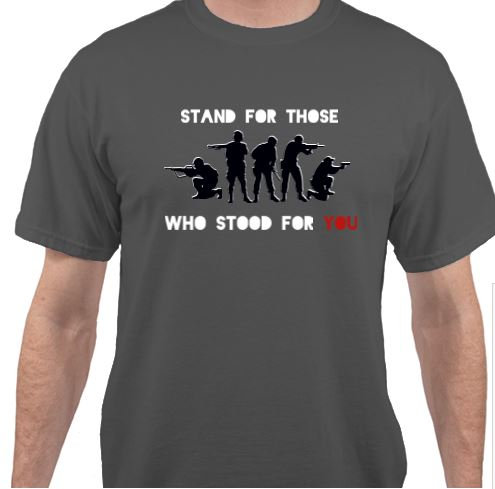 Stand for Those Who Stood For You T-Shirt