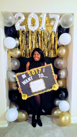 New Year's Eve Photo Booth + Prop