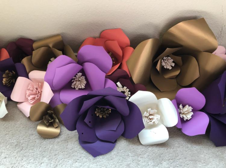 Paper Flowers (Priscilla)