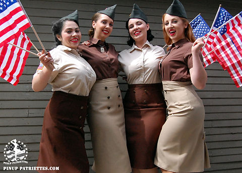 Pin-Up Patriots in Southern California
