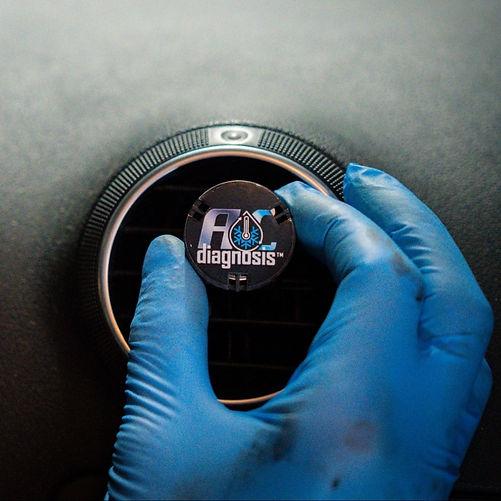 DIgital car AC check with AC diagnosis.j