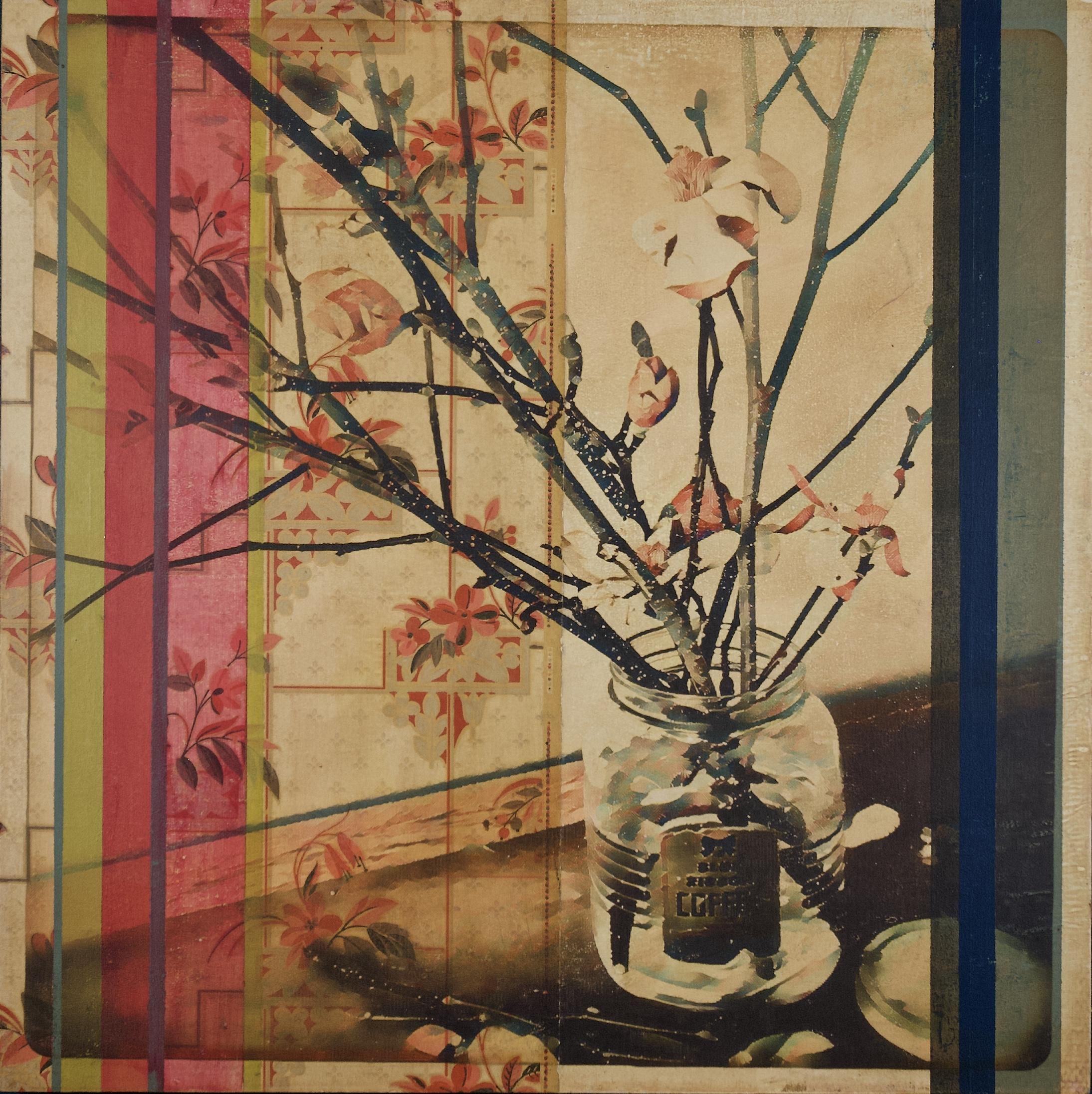 Still Life with Magnolia Branch
