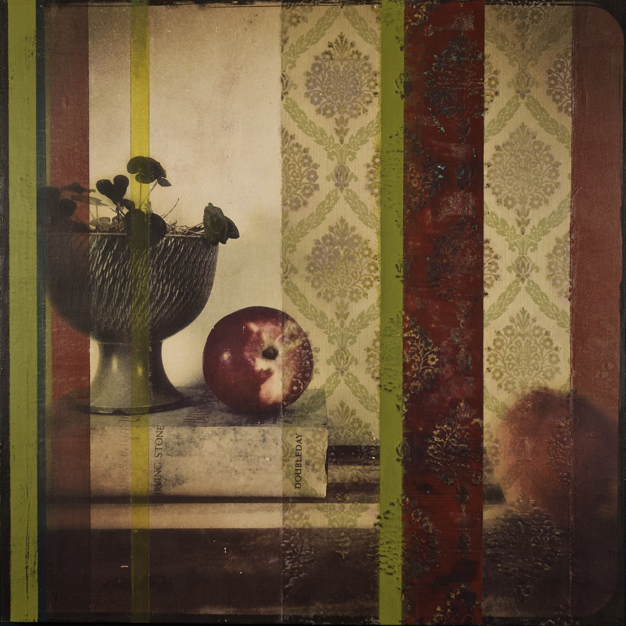 Still Life with Apples and Book