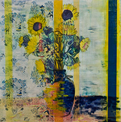 Still Life with Sunflowers Promised to Victoira Hospital Foundation