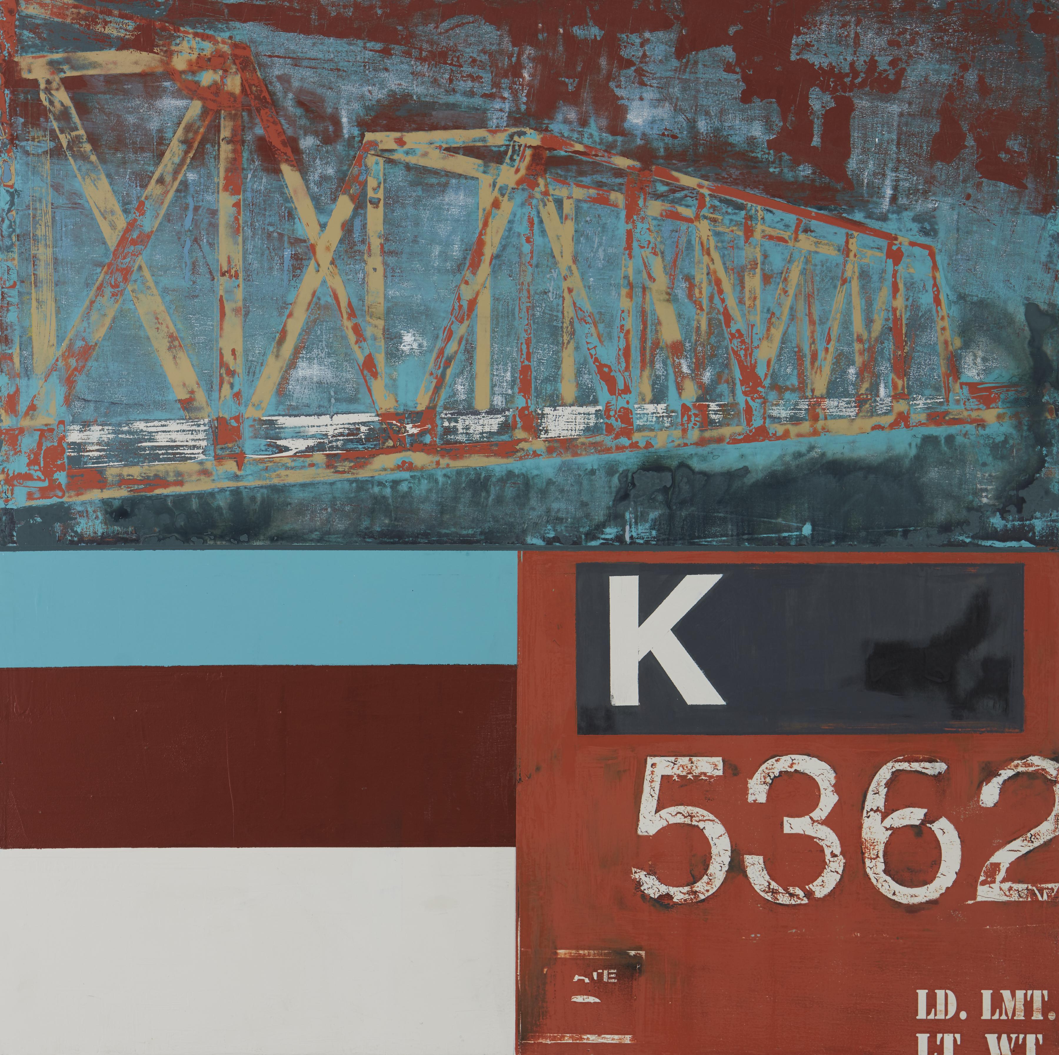Underneath The Freight Train Bridge