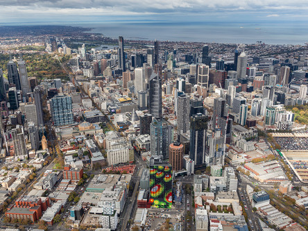 Discover The City of Melbourne from above
