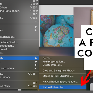How to easily and quickly create a collage in Adobe Photoshop