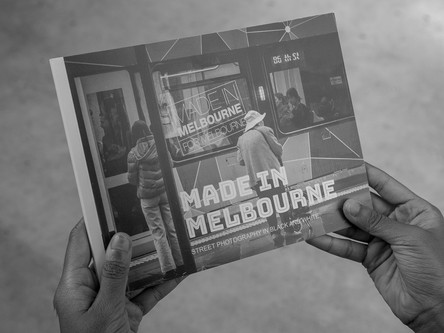 Made in Melbourne - Street Photography in Black and White- Book