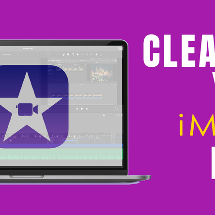 How I clean up my iMovie files to regain my hard drive space