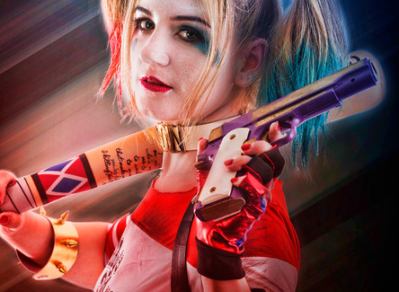 Cosplay Photography to Artwork