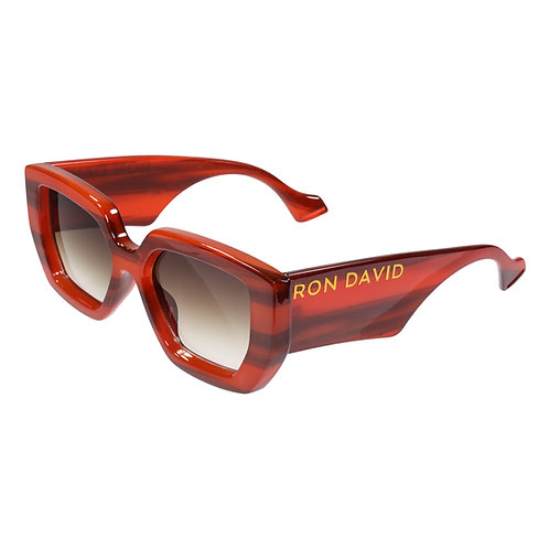 "RON DAVID | SUNGLASSES ""PRIVACY PLEASE"" CARAMEL"