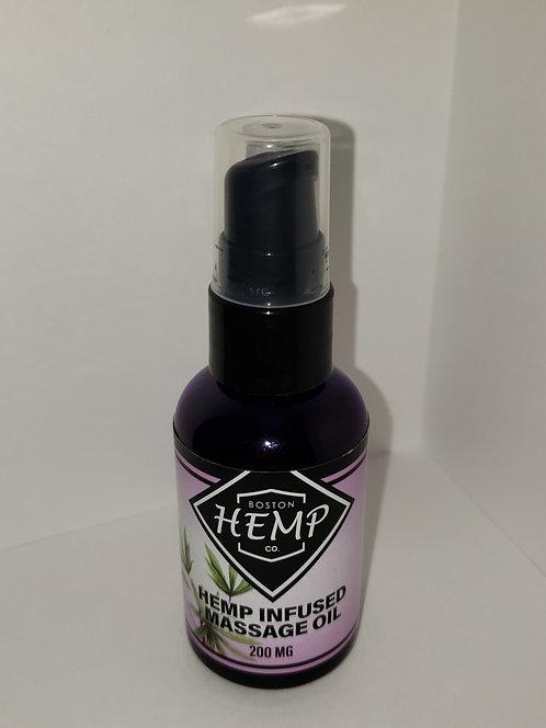 Hemp Infused Massage Oil - 200 mg
