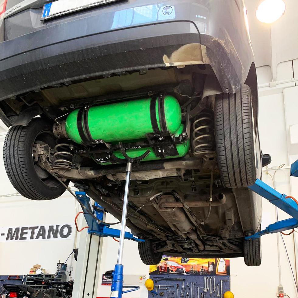 Opel zafira metano