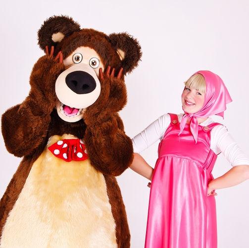 Аниматор Маша и Медведь
