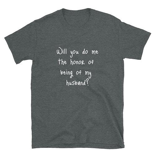 Proposal Short-Sleeve Unisex T-Shirt