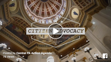 Video | Citizen Advocacy in Central Pennsylvania - by ActionAgenda.org