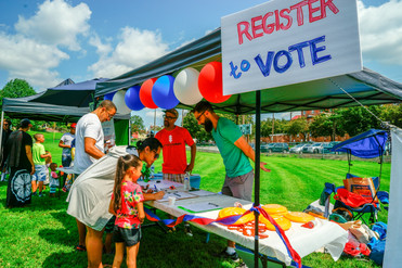 Have an Impact...Opportunities to Register Voters -- Sign Up to Volunteer for Shifts