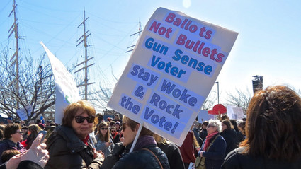 """America's Youth Aren't Kidding: """"March for Our Lives"""" Demands Sane Gun Laws!"""