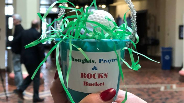 Thoughts, Prayers, and...Buckets of Rocks???  How to Not Deal with Antiquated Gun Laws!
