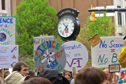 March for Science -- Lancaster just one of over 600 cities rallying for Science today!