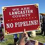 Lancaste Pennsylvania residents activists protest pipeline Williams politics environment news progressive Democrat