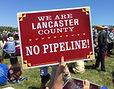 Lancaste Pennsylvania residents activists protest pipeline Williams politics environment news progressive Democrat