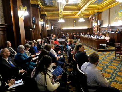 Arming Teachers with Guns will not make kids safer experts tell Legislators! Will they Listen?