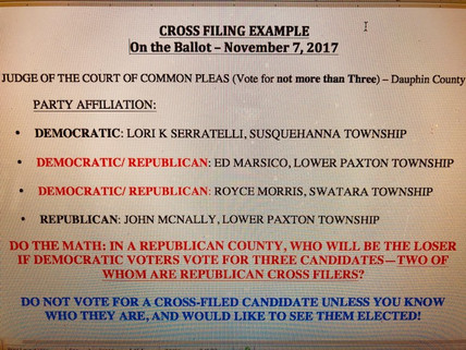 Beware of Cross Filed Candidates -- They could be Wolves in Sheep's Clothing!
