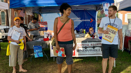 Local Groups Encourage Participation in our Democracy: New Voters Registered at Kipona