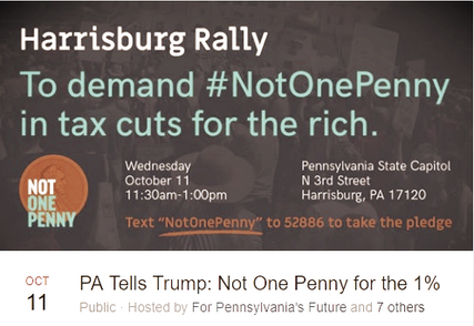 Event: Wed, October 11 | PA State Capitol | 11:30am