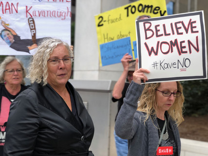Central PA Joins others across the US to Support Dr. Ford -- Call for FBI Investigation