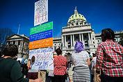 rally immigration politics Harrisburg Pennsylvania news citizens capitol activsm