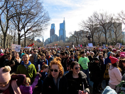 Photos   Across the Country Hundreds of Thousands Take to the Streets in Second Women's March!