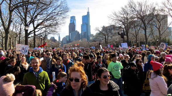 Photos | Across the Country Hundreds of Thousands Take to the Streets in Second Women's March!