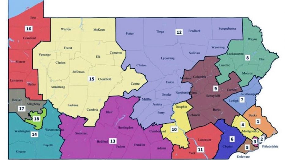 PA Congressional Map